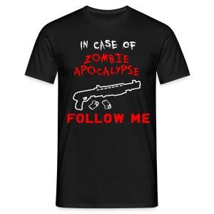 Zombie Apocalypse T-Shirt - Men's T-Shirt