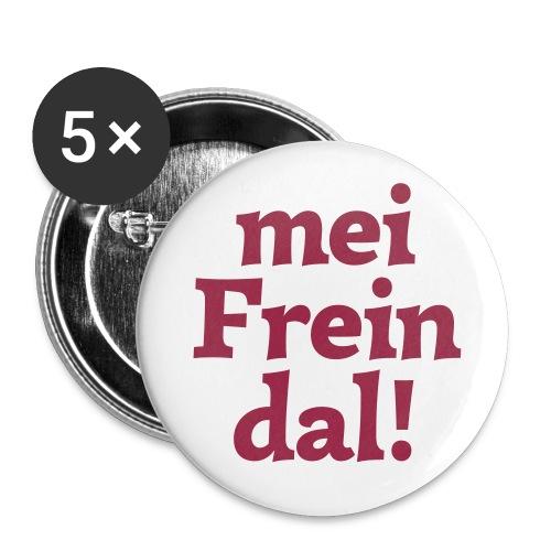 Button 56mm mei Freindal - Buttons groß 56 mm (5er Pack)