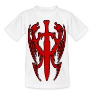 Tee shirts ~ Tee shirt Enfant ~ T shirt enfant double dragon chinois