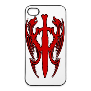 Coque iPhone double dragon chinois - Coque rigide iPhone 4/4s