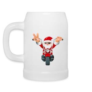 Christmas Beer Mug - your own greeting - Beer Mug