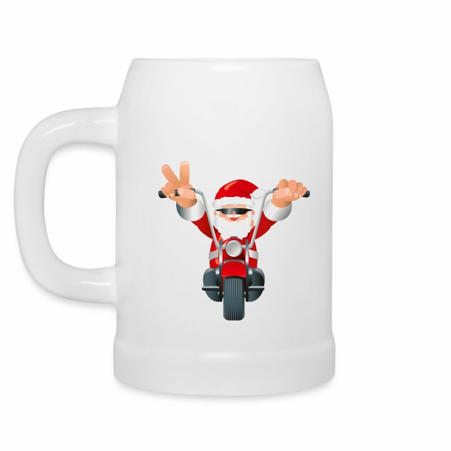 Christmas Beer Mug - your own greeting