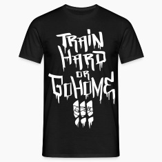 Black Train hard! T-Shirts