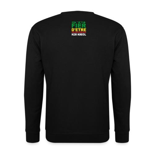 Sweat-shirt Homme 974 Ker Kreol Carr Rasta - Sweat-shirt Homme