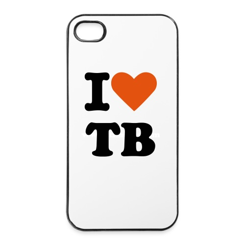 TB iPhone Case (Weiß) - iPhone 4/4s Hard Case