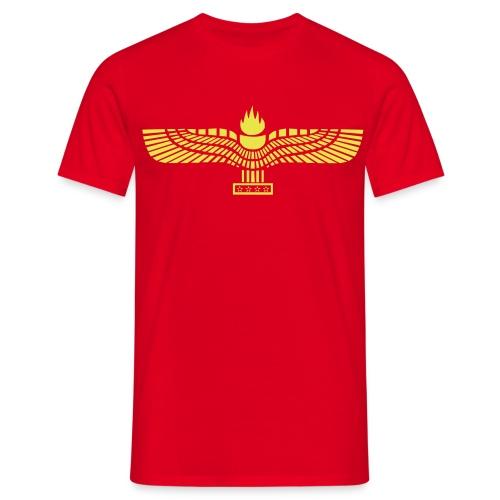 T-shirt with Aramean Flag - Mannen T-shirt