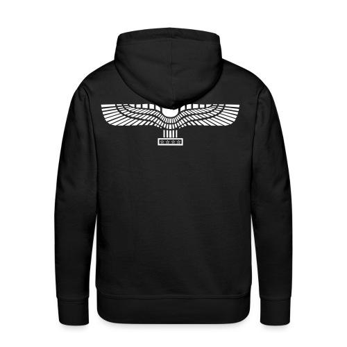 Sweater with Aramean Flag (behind) - Mannen Premium hoodie