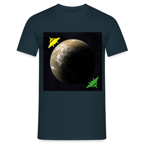 Clash of the Extra-Terrestrials - Men's T-Shirt