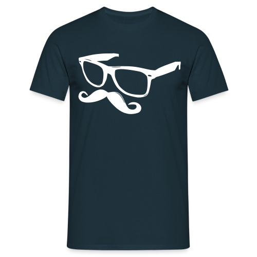 'Tee-shirt Moustasche & Lunettes' - T-shirt Homme