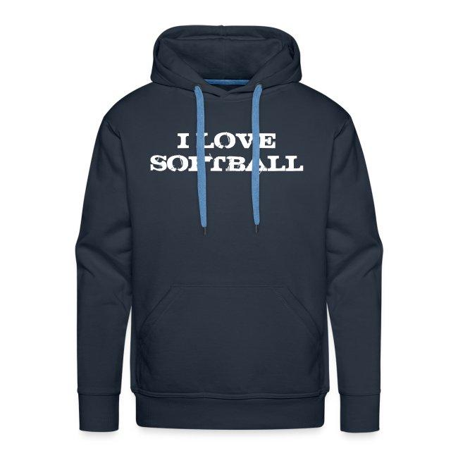 Sweat I love softball