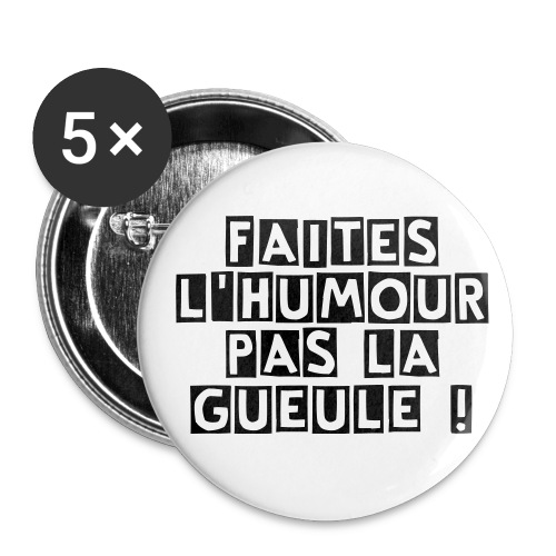 Pin's 25mn - Badge petit 25 mm