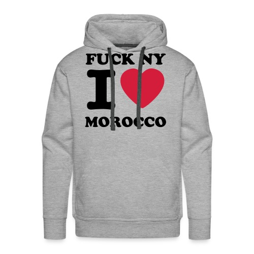 FUCK NY I LOVE MOROCCO SWEATER - Mannen Premium hoodie