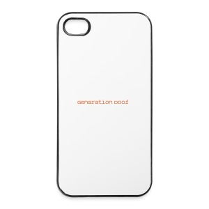 Genaration Doof-iPhone Case - iPhone 4/4s Hard Case