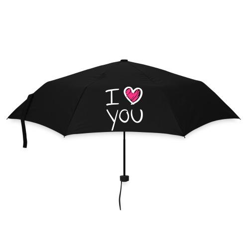 Parapluie Classique I Love You - Parapluie standard