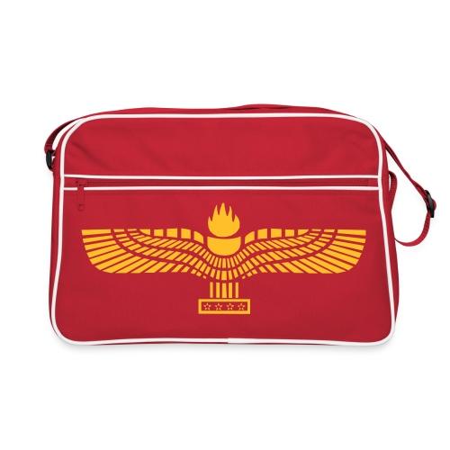 Retro Bag with the Aramean Flag - Retro-tas