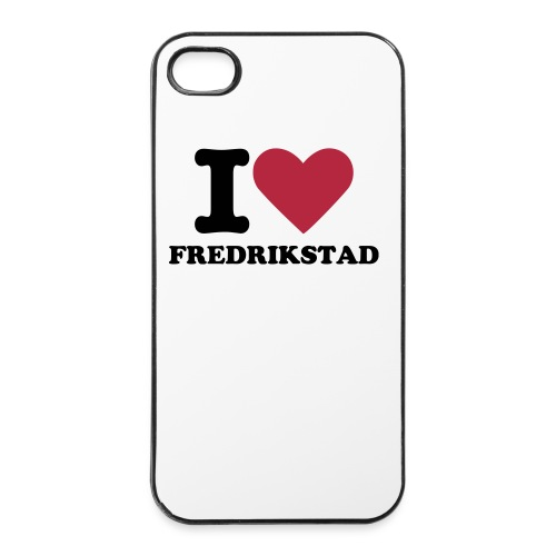 iPhone deksel - I love Fredrikstad - iPhone 4/4s hard case