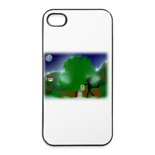 iPhone Case Katze Kittycat Laterne - iPhone 4/4s Hard Case