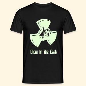 Männer T-Shirt - glow in the dark - Männer T-Shirt