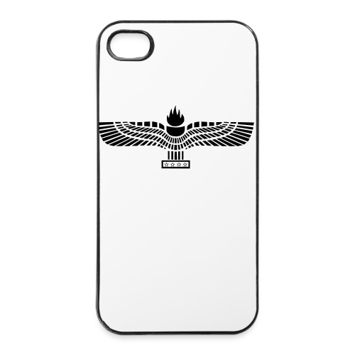 Iphone 4/4s case with Aramean Flag - iPhone 4/4s hard case