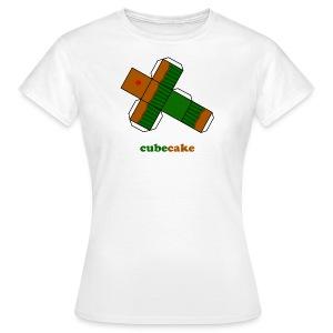 Cubecake (dames) - Vrouwen T-shirt