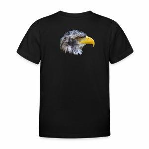 Adler als Fotomontage
