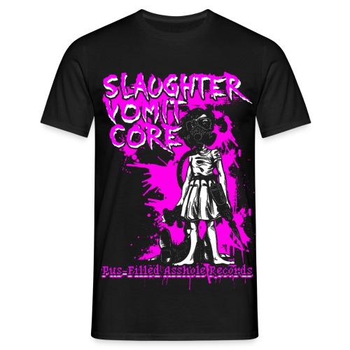 Slaughter Vomit Core - Pink Bio - Männer T-Shirt