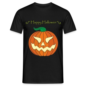 Pumpkin - Men's T-Shirt