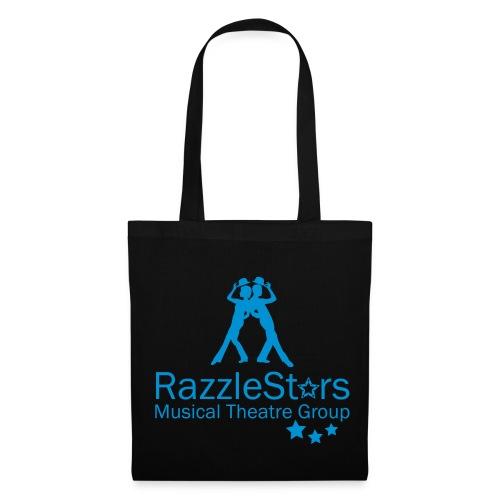 RazzleStars Black Tote Bag - Tote Bag