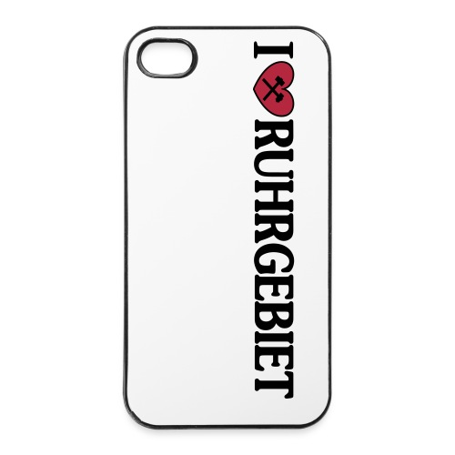 I love Ruhrgebiet - iPhone Hülle - iPhone 4/4s Hard Case