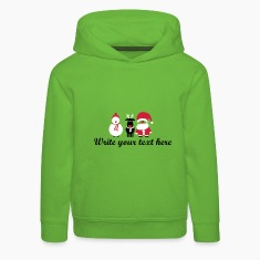 christmas crew 3 Hoodies