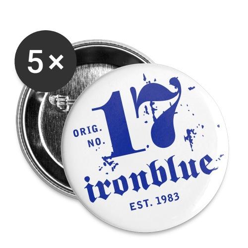 Button, mittelgroß (5 Stk.) - Buttons mittel 32 mm