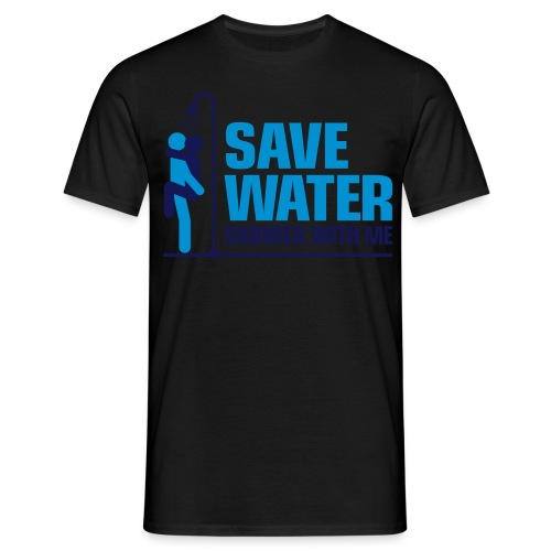 Save water T-shirt - Men's T-Shirt