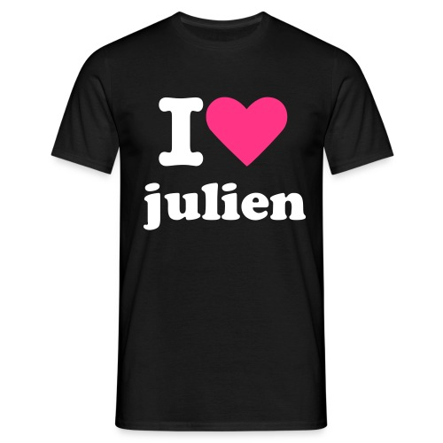 man i love julien - T-shirt Homme