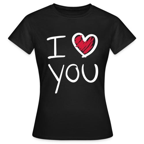 Ik Hartje Jouw. - Vrouwen T-shirt