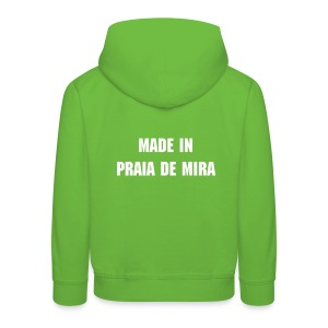 made in sweat com capucho - Kids' Premium Hoodie