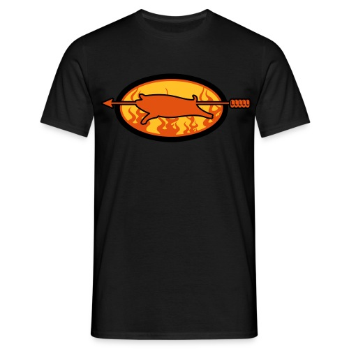 Spanferkel 003 - Männer T-Shirt