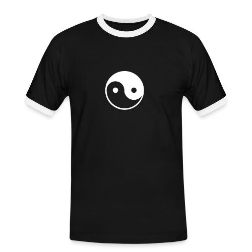 Männer Kontrast-T-Shirt - Chinese