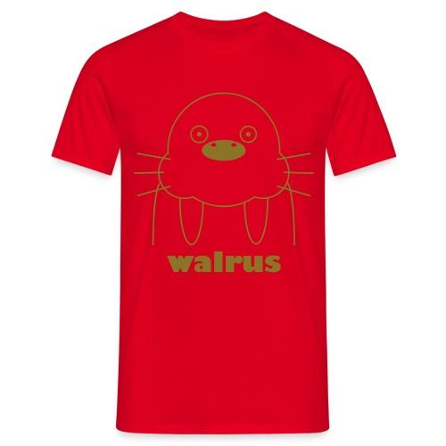 Smurch Walrus - Men's T-Shirt