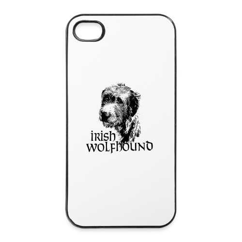 Irish wolfhound Guiseppe - Coque rigide iPhone 4/4s