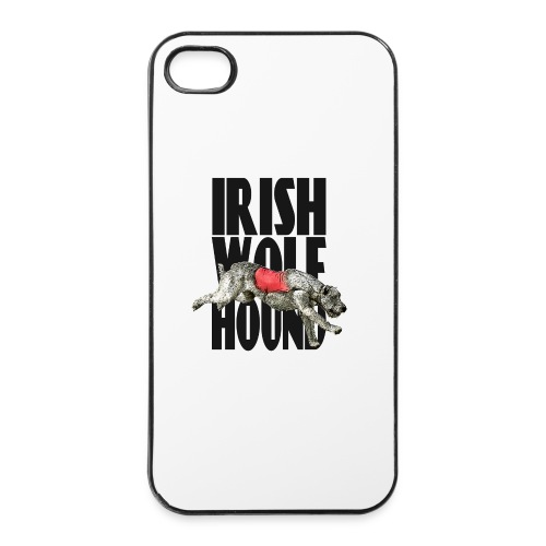 Irish wolfhound PVL - Coque rigide iPhone 4/4s