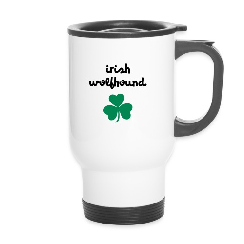 Irish wolfhound Trèfle - Mug thermos