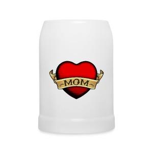 Jarra cerveza amor de madre - Jarra de cerveza