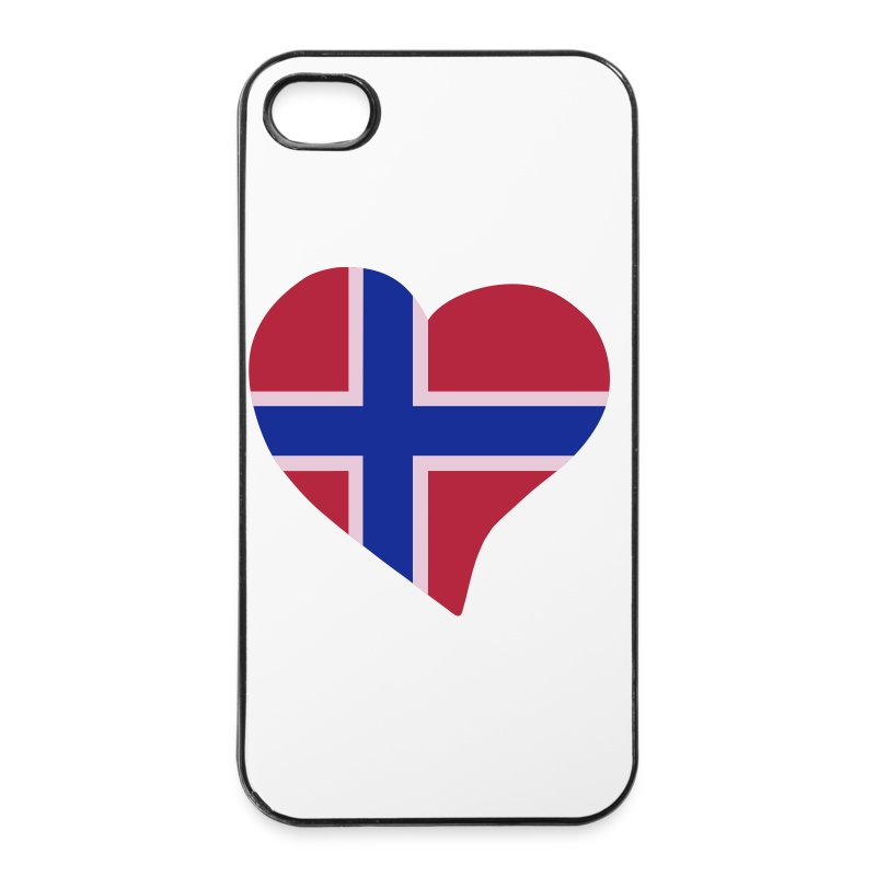 Norwegian Herz - Carcasa iPhone 4/4s