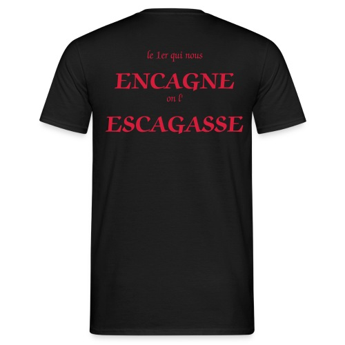 Tee shirt Homme: On l'Escagasse - T-shirt Homme