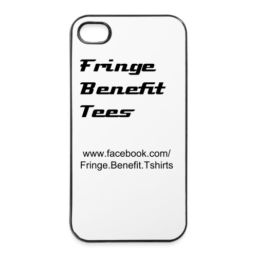 Fringe Benefit Tees Exclusive 'Test Design'  - iPhone 4/4s Hard Case