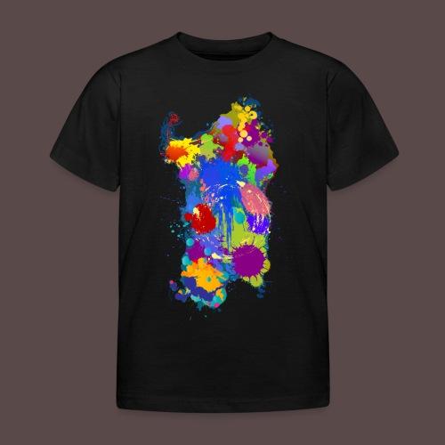 Sardegna, Silhouette Paint - bambini - Maglietta per bambini