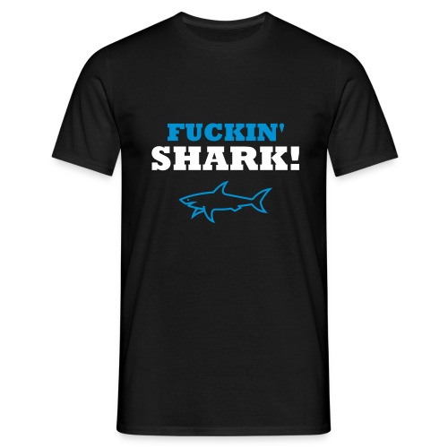 'Shark!' - Men's T-Shirt - Men's T-Shirt