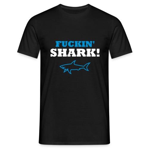 'Shark!' - Men's T-Shirt - Men's T-Shirt