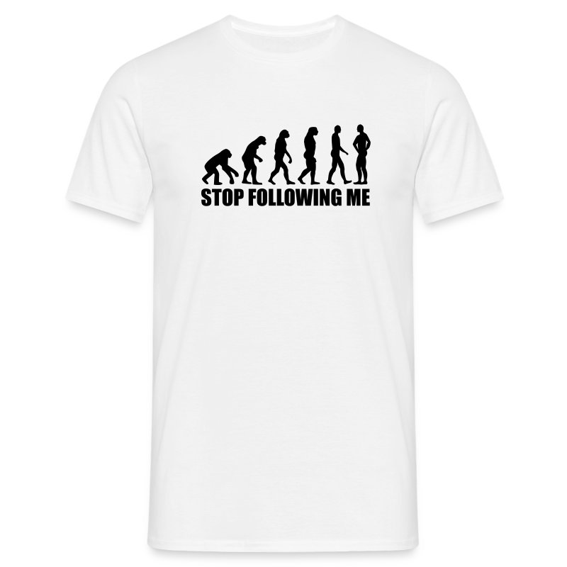 Stopfollowingme - Men's T-Shirt