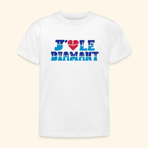 j'aime le Diamant - T-shirt Enfant